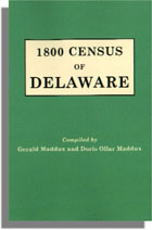 1800 Census of Delaware