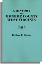 A History of Monroe County, West Virginia