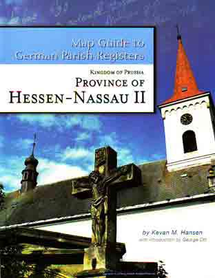 Damaged-Map Guide to German Parish Registers Vol 10 - Hessen-Nassau II - RB Kassel