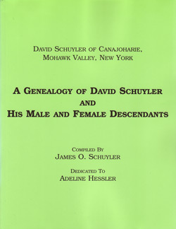 A Genealogy of David Schuyler and His Male and Female Descendants