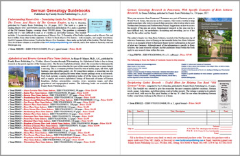 Product Description Flyer: Genealogists