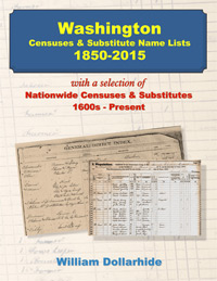 Washington Censuses & Substitute Name Lists 1850-2015