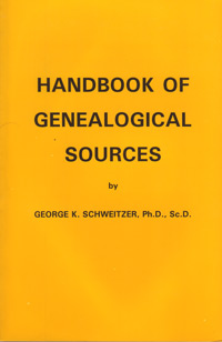 Handbook of Genealogical Sources