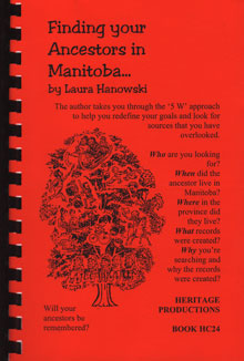 Finding your Ancestors in Manitoba