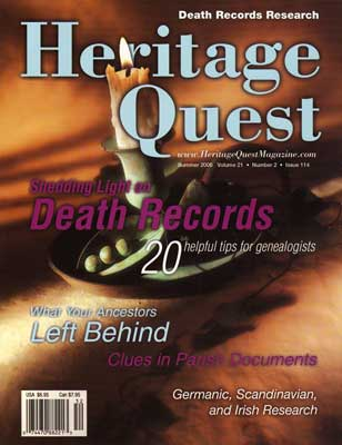 Heritage Quest Magazine 114 - Summer 2005