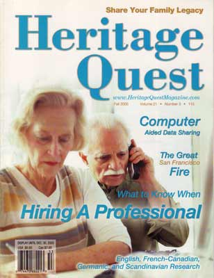 Heritage Quest Magazine 115 - Fall 2005