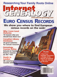 Internet Genealogy – December-January 2010