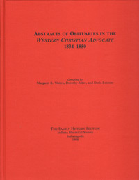 Abstracts of Obituaries in the Western Christian Advocate, 1834-1850