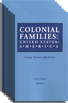 Colonial Families of the United States of America [7 vols.]