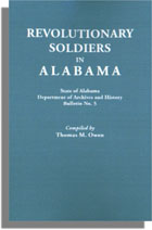 Revolutionary Soldiers in Alabama