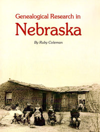 Genealogical Research in Nebraska