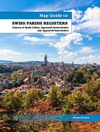 PDF eBook - Map Guide To Swiss Parish Registers - Vol. 6 Sankt Gallen, Appenzell-Ausserrhoden And Appenzell-Innerrhoden