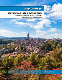 PDF eBook - Map Guide To Swiss Parish Registers - Vol. 8 - Cantons Of Solothurn, Basel-Landschaft, Basel-Stadt And Schaffhausen