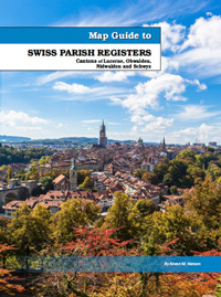 Map Guide to Swiss Parish Registers - Vol. 9 - Cantons of Lucerne, Obwalden, Nidwalden, and Schwyz