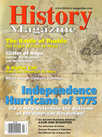 History Magazine; April/ May 2013