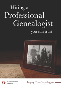 Hiring a Professional Genealogist, You Can Trust