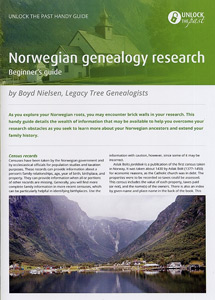 Handy Guide: Norwegian Genealogy Research Beginner